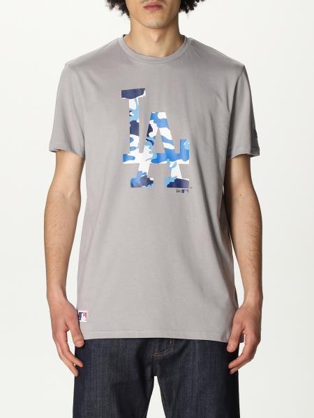 T-shirt New Era in cotone con logo LA