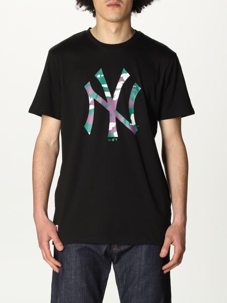 T-shirt New Era in cotone con stampa NY