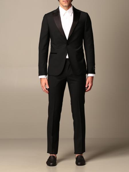 Z Zegna drop 8 tuxedo dress in wool