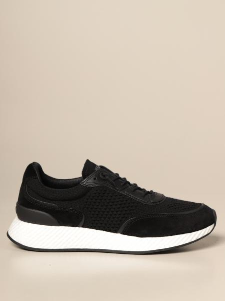 Piuma wash & go Z Zegna sneakers in suede and knit