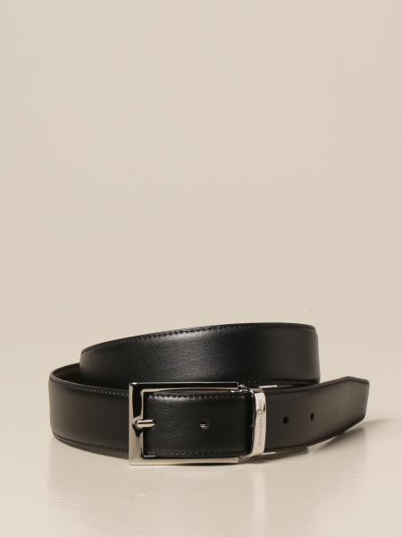 Ermenegildo Zegna: Ermenegildo Zegna belt in reversible leather