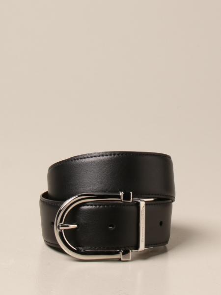 Ermenegildo Zegna: Ermenegildo Zegna reversible leather belt