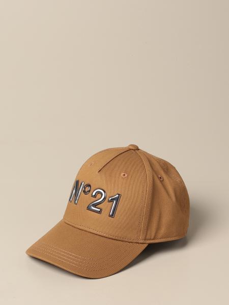 N°21 棒球帽,带有金属感Logo