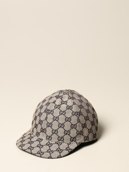 Gucci kids: Gucci baseball hat in GG Supreme fabric
