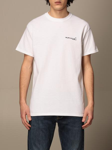 Backsideclub: Backsideclub cotton T-shirt with back print