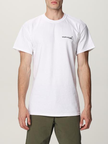T-shirt Chillin Backsideclub in cotone con stampa posteriore