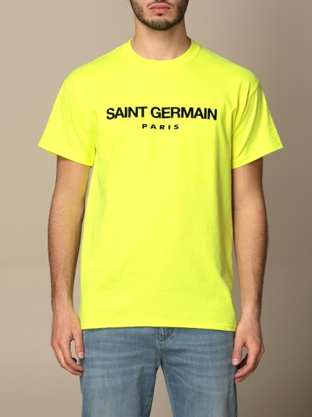 Backsideclub: Germain Backsideclub t-shirt in cotton with print