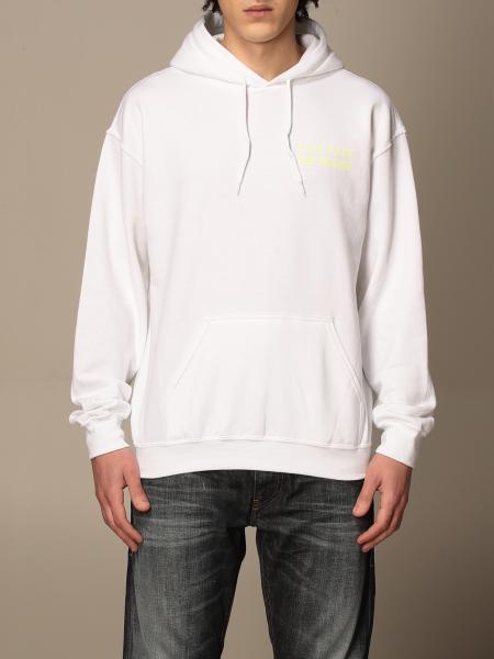 Backsideclub: Kim Backsideclub cotton sweatshirt with back print