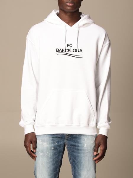 Backsideclub: Barcelona Backsideclub cotton sweatshirt