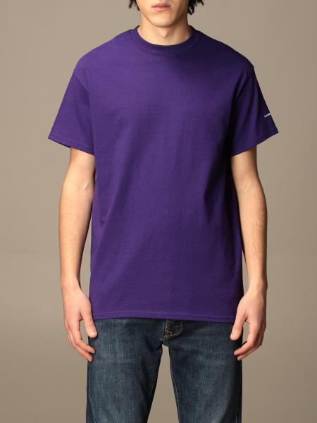 Backsideclub: Backsideclub cotton t-shirt with logo