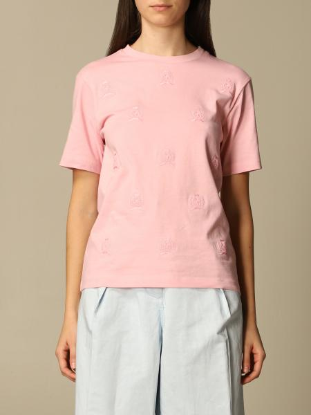 Hilfiger Collection: Hilfiger Collection cotton T-shirt with all-over emblem