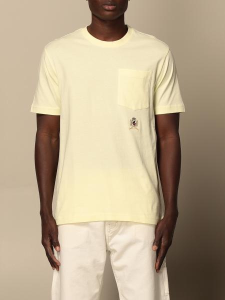 Hilfiger Collection: Hilfiger Collection cotton T-shirt with emblem