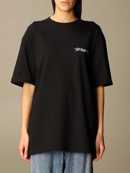 Balenciaga: T-shirt femme Balenciaga