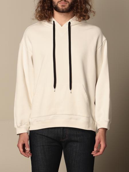 N° 21: N ° 21 hooded jumper with logo