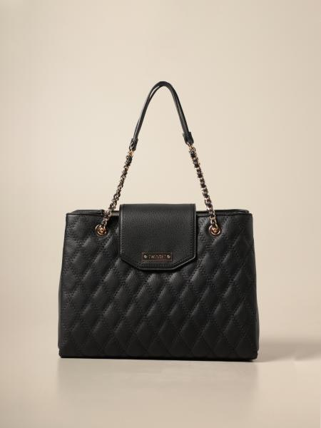 Twin-set tote bag in quilted synthetic leather