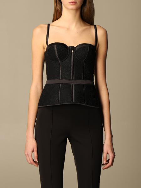 Bustier Twin-set in pizzo