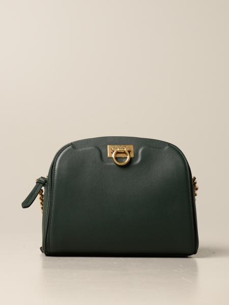 Salvatore Ferragamo: Salvatore Ferragamo Trifolio bag in leather