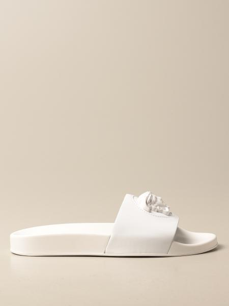 Sandalo La Medusa Versace in pelle