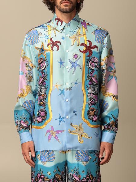 Versace shirt in Trésor de la Mer patterned silk