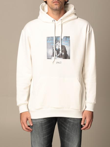 Throwback: Throwback cotton sweatshirt with 1962 print