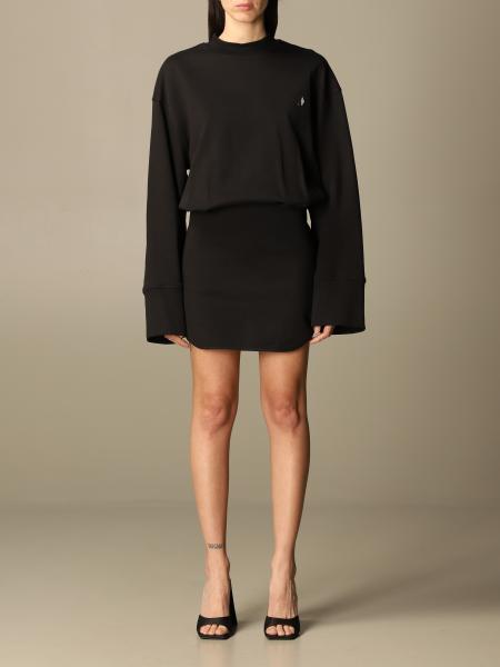 The Attico: Palmer The Attico short dress in stretch cotton