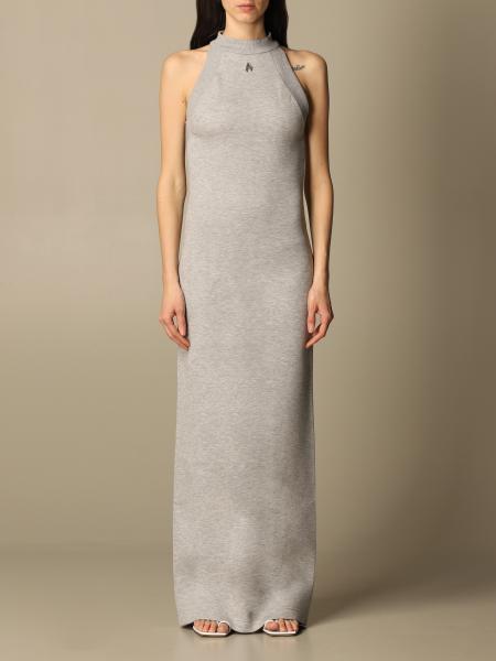 The Attico: The Attico long Ema dress in cotton