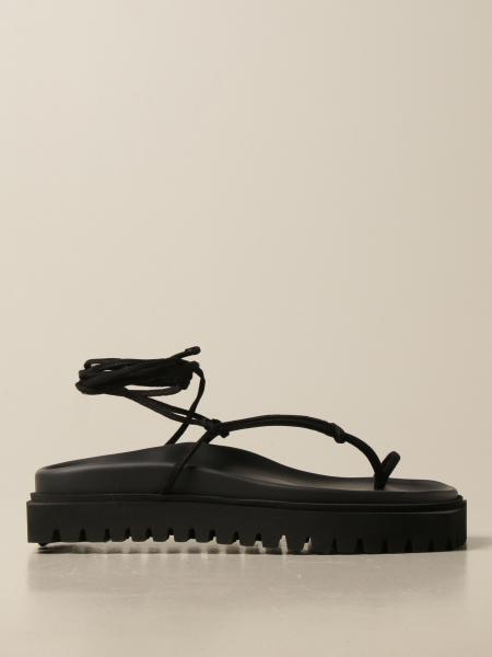 The Attico: The Attico flat sandal