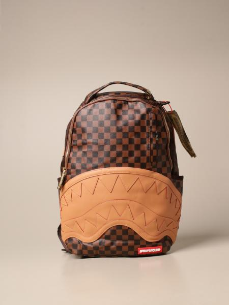 Sprayground: Sprayground backpack in vegan leather with carved shark mouth