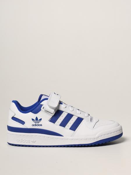 Sneakers Forum Low Adidas Originals in pelle gommata