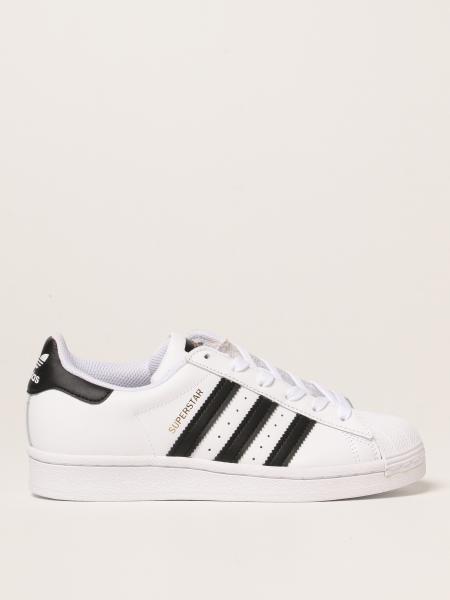 Sneakers Superstar Adidas Original in pelle