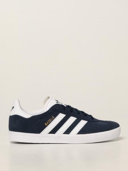 Sneakers Gazelle J Adidas in camoscio e pelle