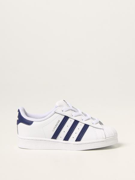 Sneakers Superstar EL I Adidas Original in pelle
