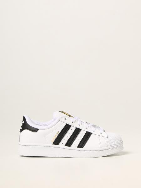 Sneakers Superstar C Adidas Original in pelle