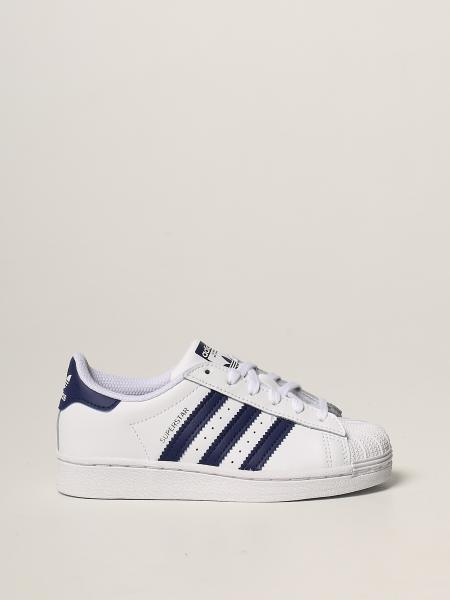 Sneaker Superstar C Adidas Original in pelle