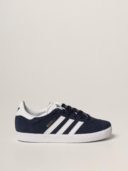 Sneakers Gazelle C Adidas Original in camoscio