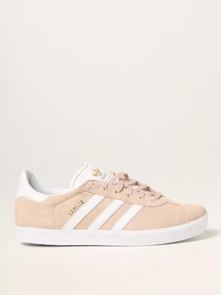 Sneakers Gazelle J Adidas Original in camoscio