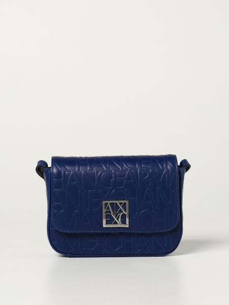 Armani Exchange bag in synthetic leather with logo