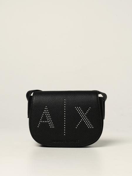 Armani Exchange bag in textured synthetic leather