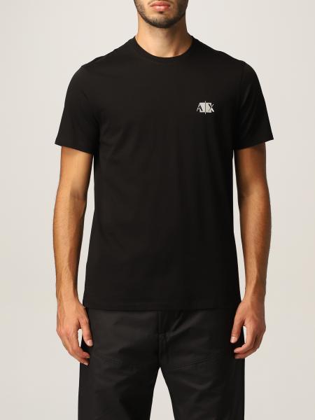 T-shirt Armani Exchange in jersey di cotone con logo