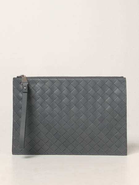 Bottega Veneta clutch bag in woven leather