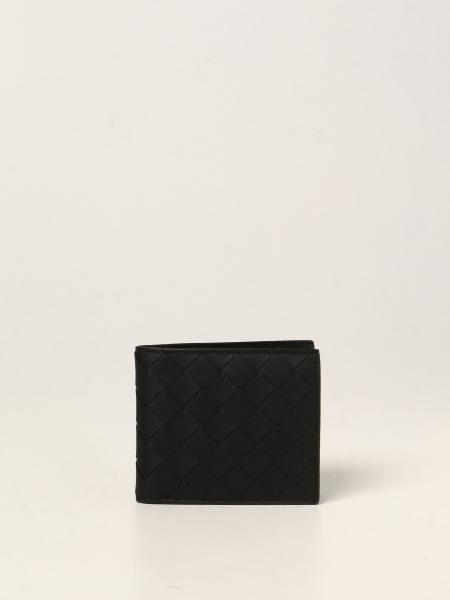 Bottega Veneta men: Bottega Veneta wallet in woven leather 1.5