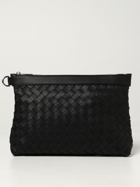 Bottega Veneta clutch bag in woven leather 1.5