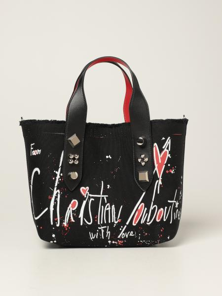 Christian Louboutin: Frangibus Christian Louboutin bag in printed canvas
