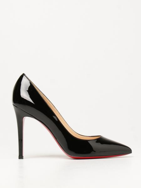 Christian Louboutin women: Pigalle Christian Louboutin court shoes in patent leather