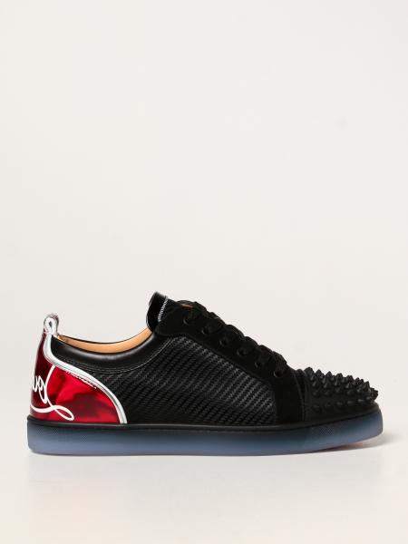 Sneakers Fun Viera Christian Louboutin in tessuto