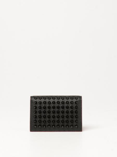 Sifnos Christian Louboutin wallet with studs