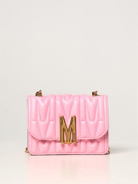 Moschino Couture bag in quilted leather with logo