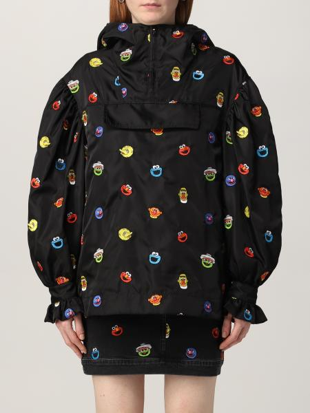 Giacca Sesame Street Moschino Couture in nylon