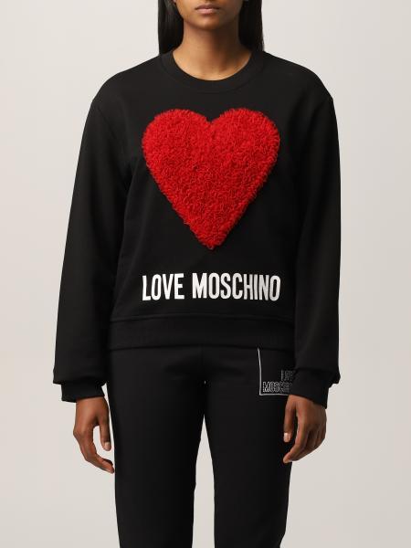 Love Moschino 女士: Love Moschino 心形棉质卫衣