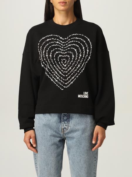 Love Moschino 女士: Love Moschino 印花棉质卫衣